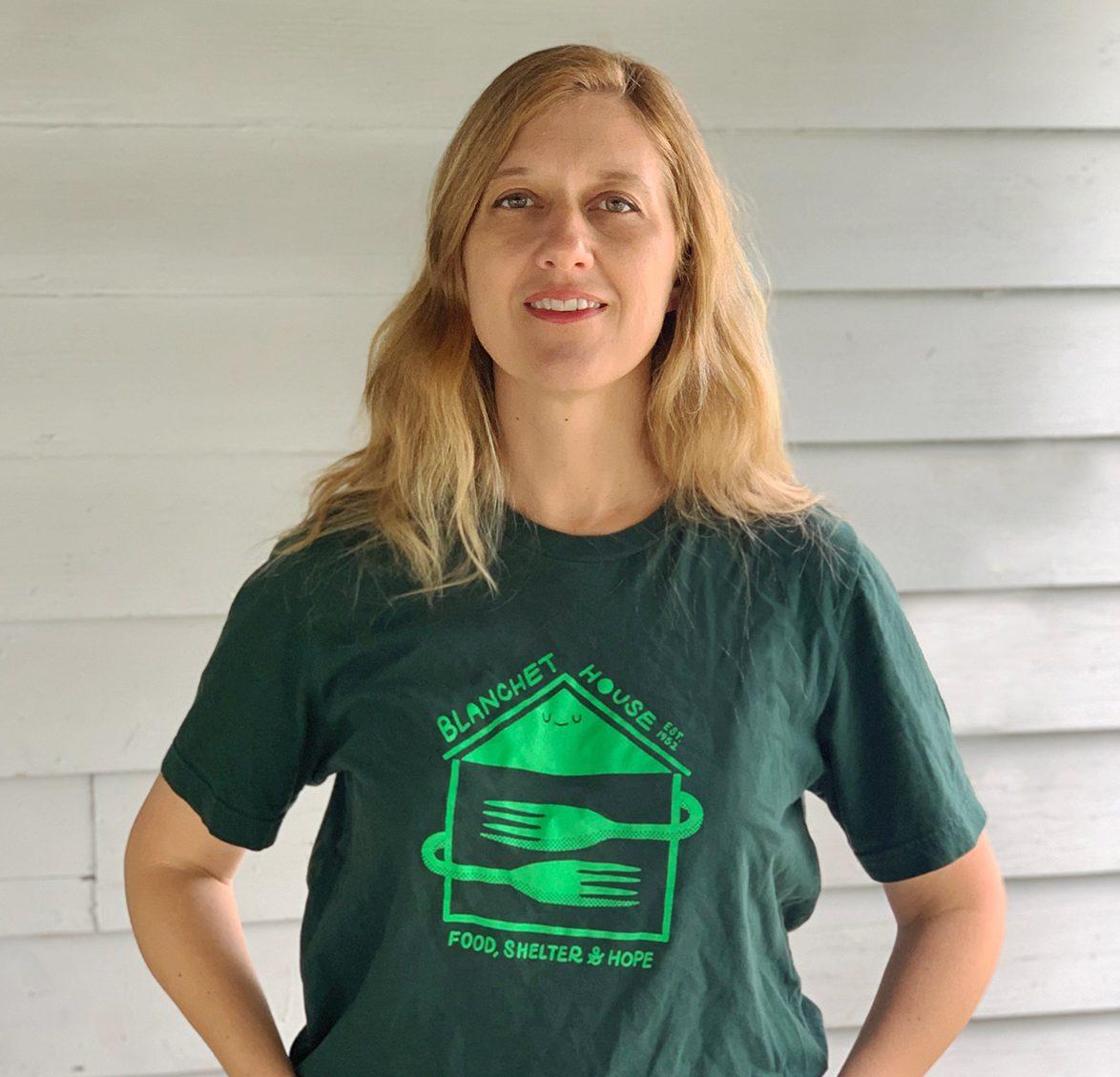 Julie Showers Communications Marketing Director Portland Headshot Blanchet House