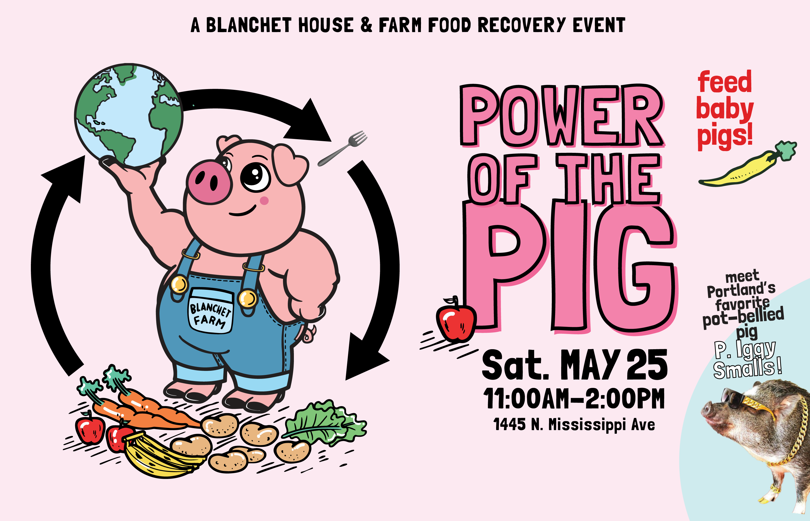 Power of the Pig Event 2019 Blanchet House