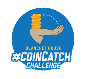 Blanchet House Coin Catch Challenge