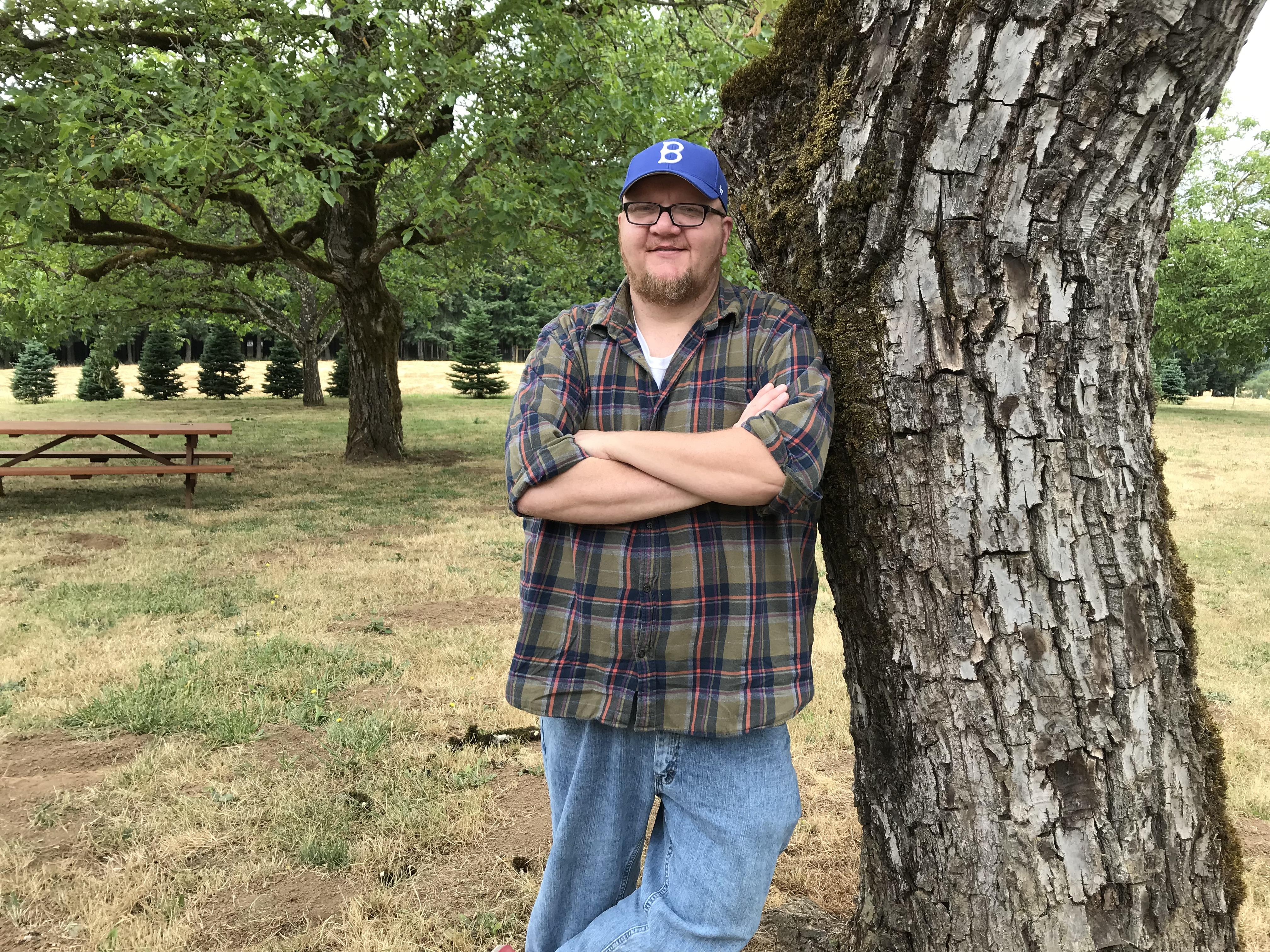 Blanchet Farm resident Brian Buckner.