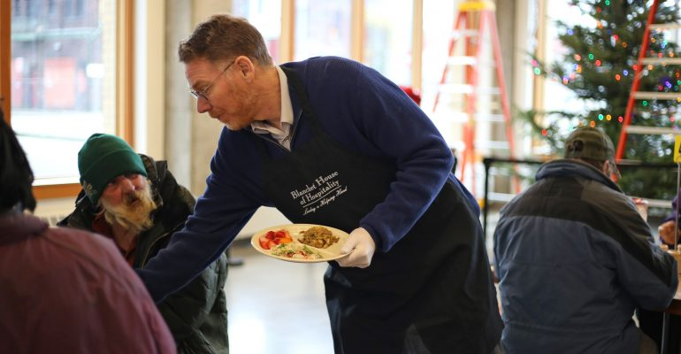 Scott Kerman Volunteering_Blanchet House