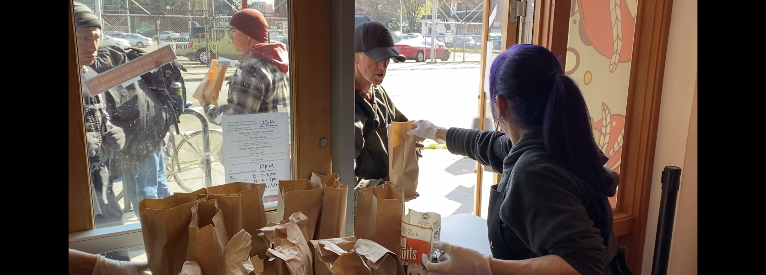 Blanchet House Offers To-Go Meals To Portland's Hungry