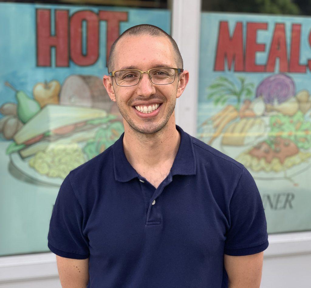 Jon Seibert Blanchet House Volunteer Manager Portland Headshot