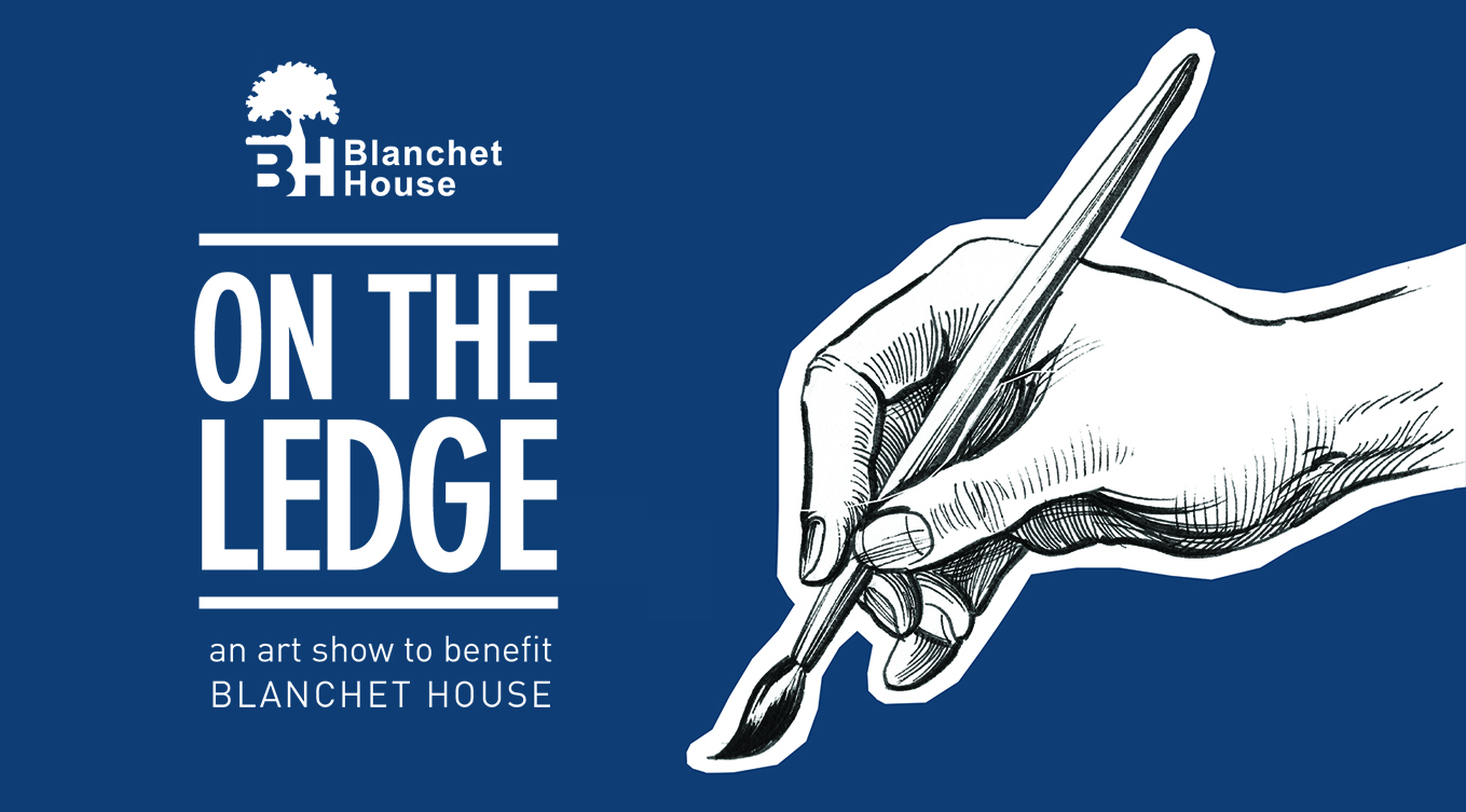 On The Ledge Blanchet House event