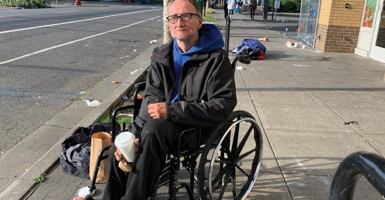 HomelessDisabledManBlanchetHousePortland_creditJulieShowers