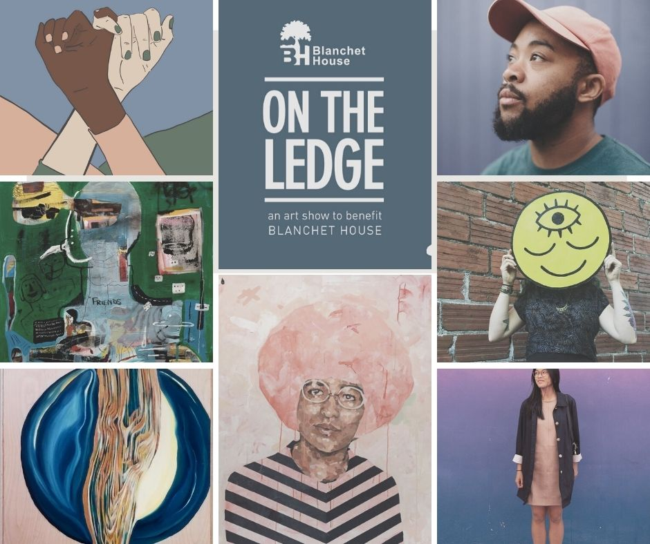 On The Ledge online art gallery to benefit Portland artists and Blanchet House