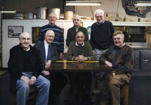 Some of the founders of Blanchet House of Hospitality in the old kitchen circa 2011.