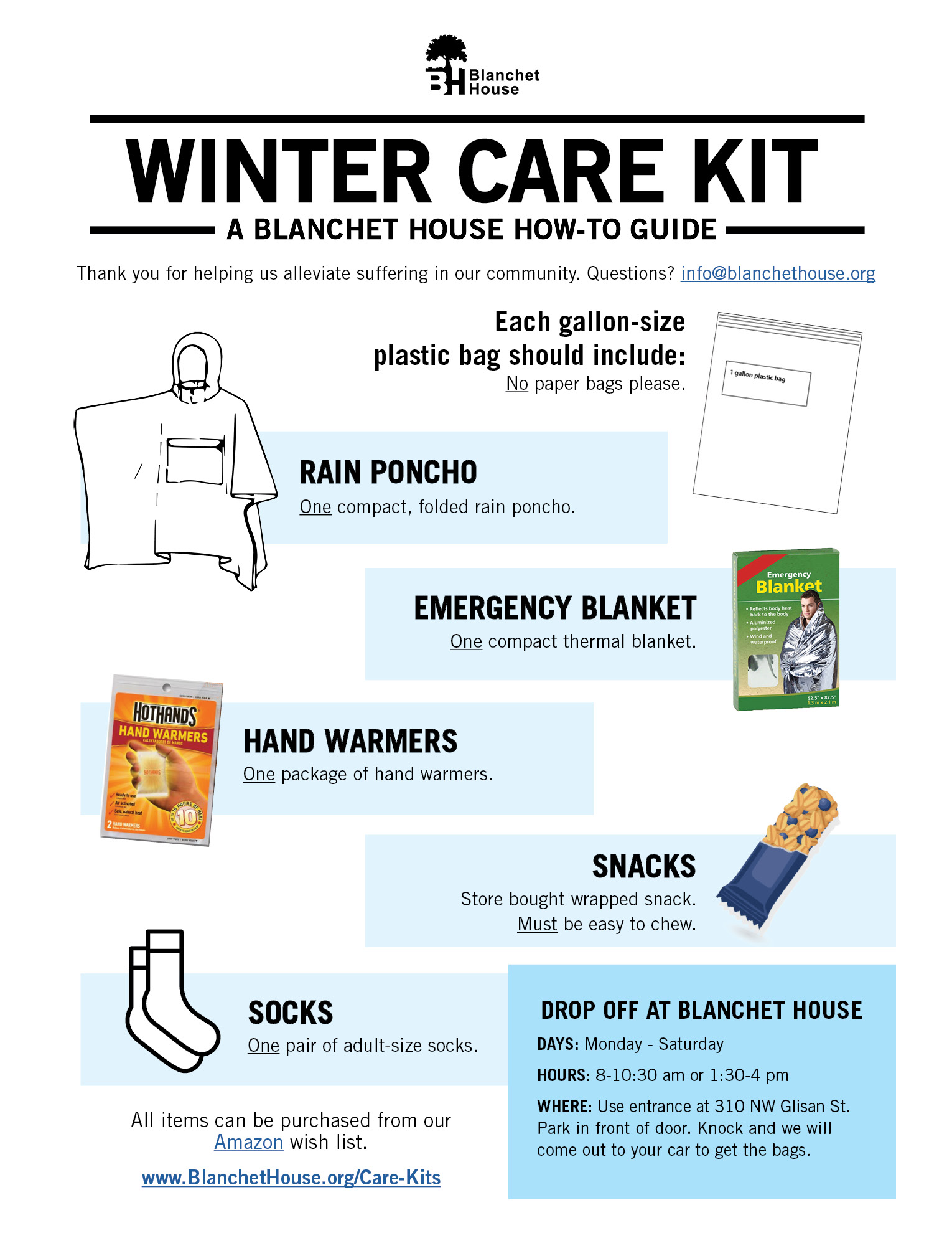 How to Make Winter Care Kits for the Homeless