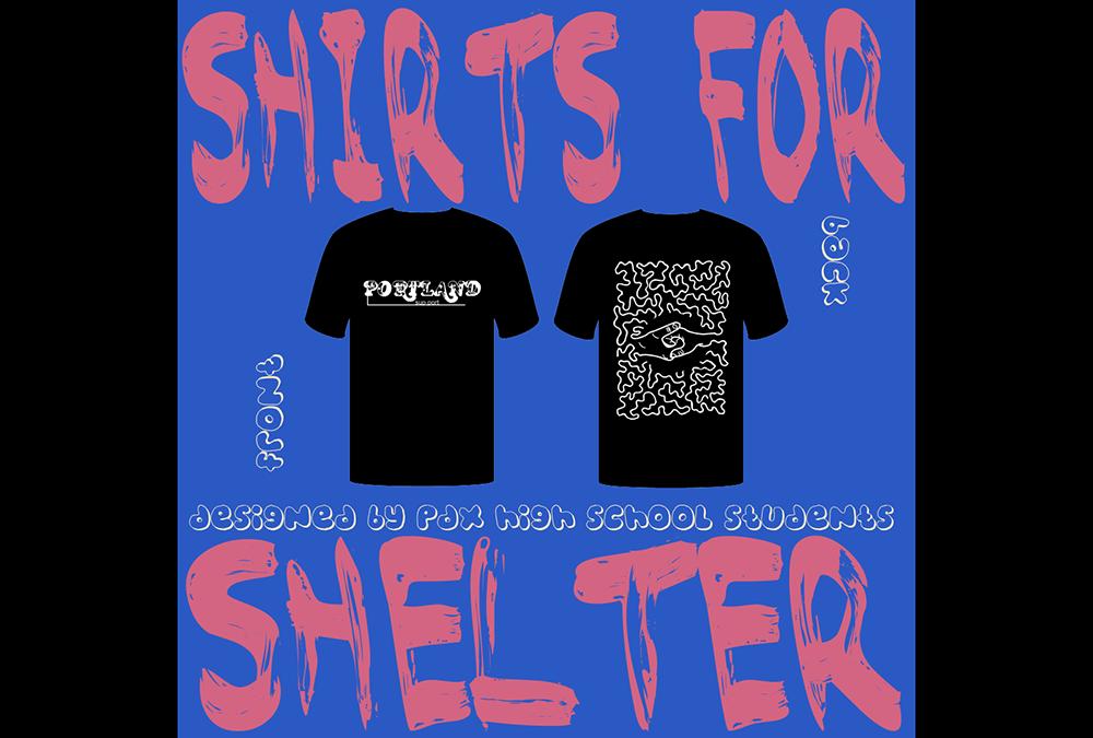 Shirts for shelter Tom Thake Grant High School fundraiser