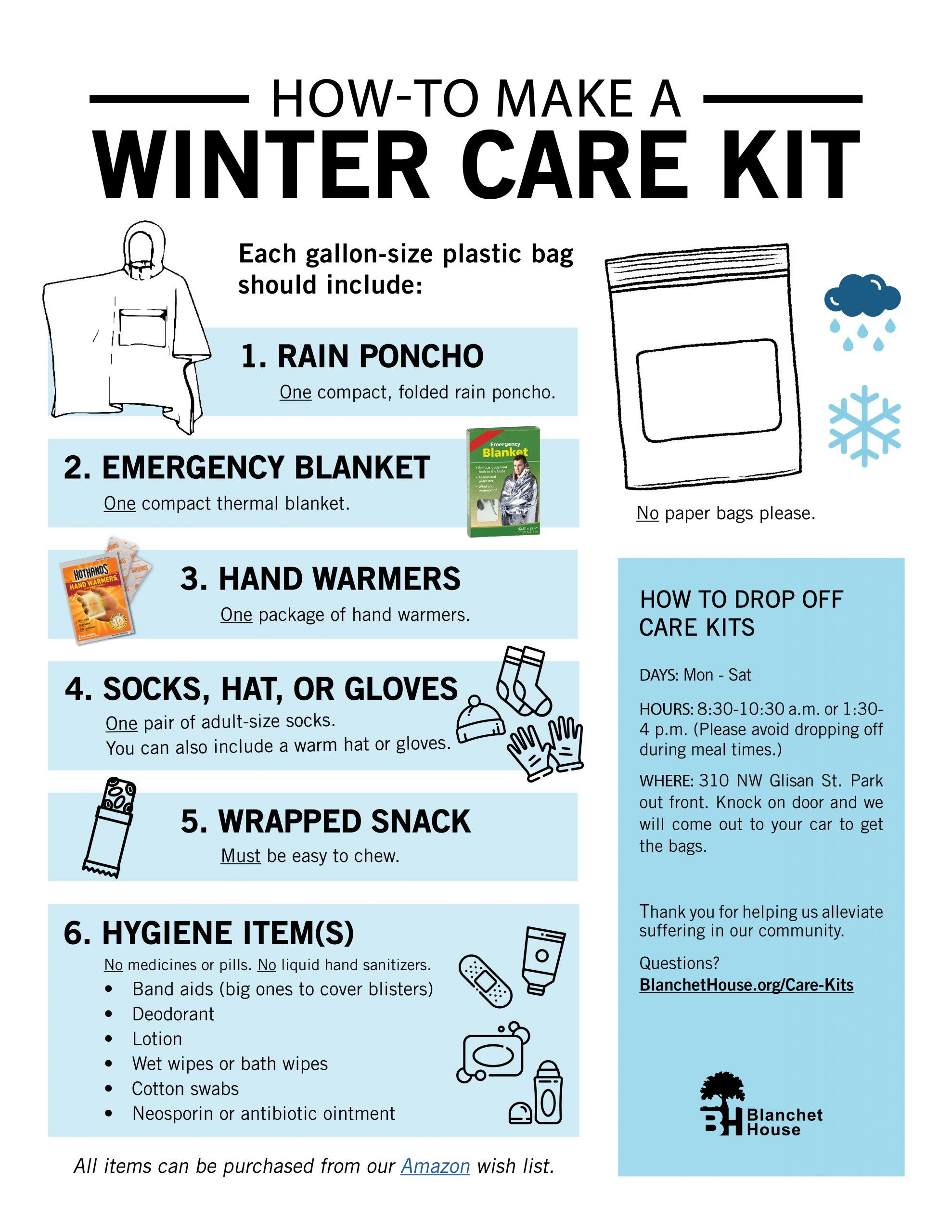 Winter Care Kit How To